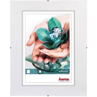 """Hama rahmenloser Bilderhalter """"Clip-Fix"""" 60x80cm für Bilder mit 40x60cm Normalglas"""