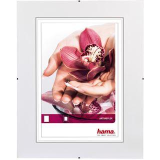 """Hama rahmenloser Bilderhalter """"Clip-Fix"""", 30 x 45 cm Antireflexglas"""