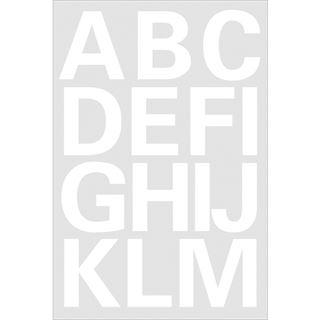 Herma Buchstaben-Sticker A-Z, Folie weiß, 25 mm