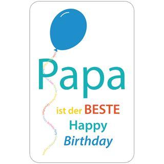 """Susy Card Geburtstagskarte """"Bester Papa"""""""