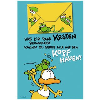 """Susy Card Geburtstagskarte - Humor """"Ein paar Kr""""ten"""""""
