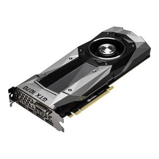 8GB Palit GeForce GTX 1070 Founders Edition Aktiv PCIe 3.0 x16 (Retail)