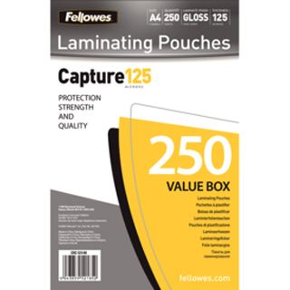 Fellowes Laminierfolientasche, DIN A4, 250 mic, Value Pack