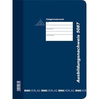 RNK Verlag Ausbildungsnachweis-Hefter inkl. Block DIN A4 dunkelblau