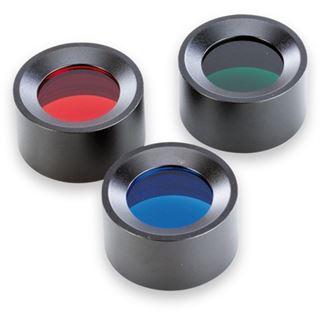 "Ansmann ""Agent 5"" Farb-Filter-Set"", grün, rot und blau"