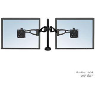 Fellowes GmbH TFT/LCD-Monitorarm Doppel Professional, schwarz