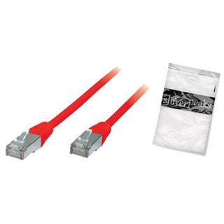 (€2,30*/1m) 3.00m ShiverPeaks Cat. 6 Patchkabel Basic-S RJ45 Stecker auf RJ45 Stecker Rot halogenfrei / Kupfer / vergoldet