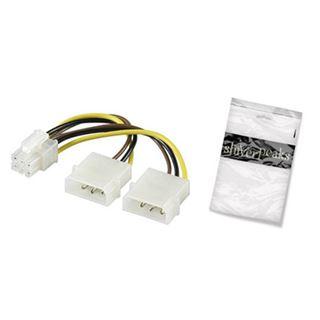 Shiverpeaks BASIC-S Y-Stromkabel, 6 Pol PCI Express Kupplung