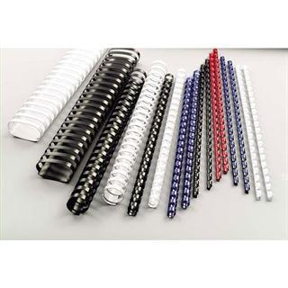 GBC Plastikbinderücken CombBind, DIN A4, 14 mm, schwarz