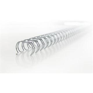 GBC Drahtbinderücken WireBind, A4, 34 Ringe, 6 mm, silber