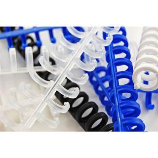 GBC Plastikbinderücken ClickBind, DIN A4, 12 mm, schwarz