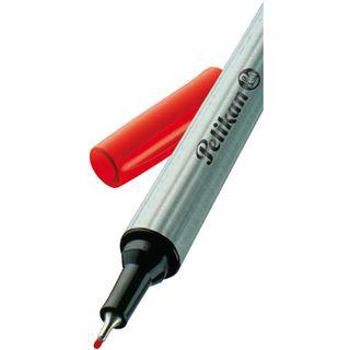 Pelikan Fineliner 96, Strichstärke: 0,4 mm, rot
