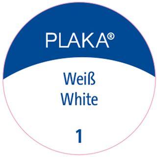 Pelikan Plaka, weiß (Nr. 1), Inhalt: 50 ml im Glas