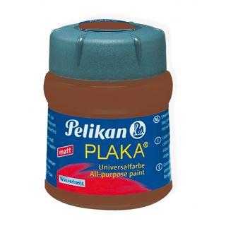 Pelikan Plaka, braun (Nr. 55), Inhalt: 50 ml im Glas