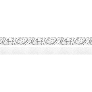 URSUS Faltpapierstreifen für Fröbelsterne, hochweiß/silber