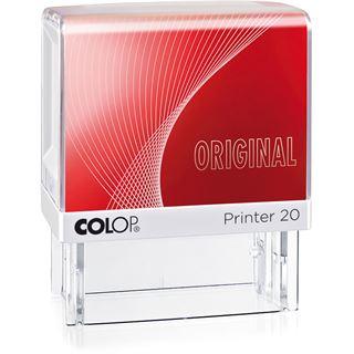 """COLOP Textstempel Printer 20 """"ORIGINAL"""", mit Textplatte einzeilig"""