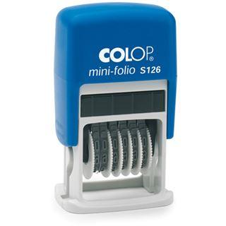 COLOP Ziffernstempel Mini Dater S126, 6-stellig