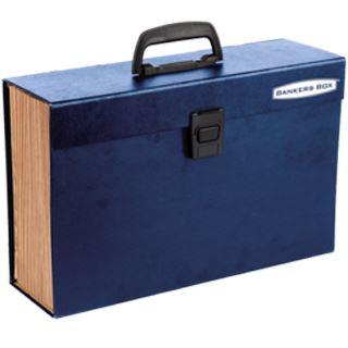 Fellowes BANKERS BOX Fächertasche Handifile, 19 Fächer, blau