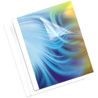 Fellowes Thermobindemappe Coverlight, DIN A4, 1,5 mm, weiß 20 Stück