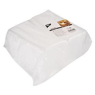 PAPSTAR Deckel für Verpackungsbecher eckig