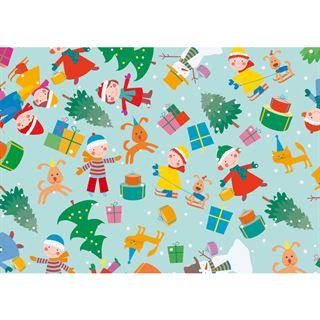 """SUSY CARD Weihnachts-Geschenkpapier """"Weihnachtsspass"""", Rolle"""