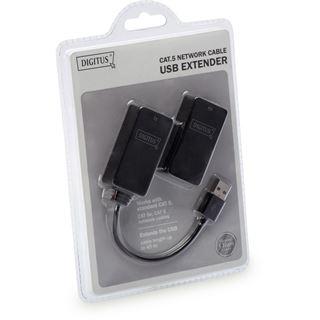DIGITUS USB 1.1 Extender-Set, Sende- und Empfangseinheit