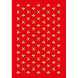 """HERMA Weihnachts-Sticker DECOR """"Sterne"""", 6 mm, gold"""