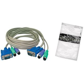 shiverpeaks BASIC-S KVM Kabel-Set für PS/2, 1,8 m