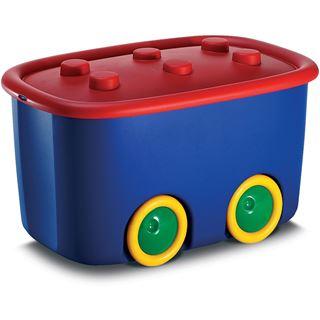 "smartboxpro Aufbewahrungsbox ""Funny Box L"", 46 Liter, bunt"