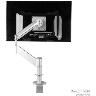 """R-GO Tools Caparo 3 Tischhalterung für 1x bis 32"""" mit 3 Gelenken silber"""
