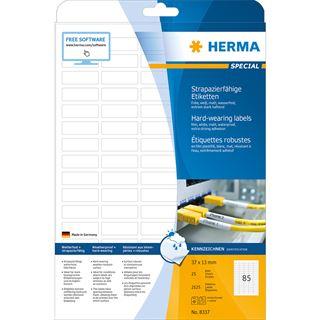 HERMA Folien-Etiketten SPECIAL, 37 x 13 mm, weiß
