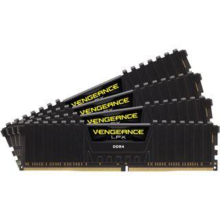 32GB Corsair Vengeance LPX schwarz DDR4-3000 DIMM CL15 Quad Kit