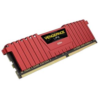 32GB Corsair Vengeance LPX rot DDR4-3000 DIMM CL15 Quad Kit