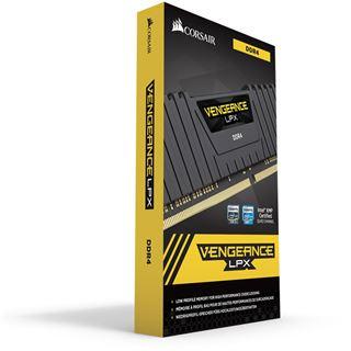 64GB Corsair Vengeance LPX schwarz DDR4-2400 DIMM CL14 Quad Kit