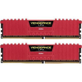 8GB Corsair Vengeance LPX rot DDR4-3866 DIMM CL18 Dual Kit