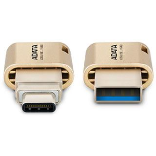 16GB ADATA USB-Stick UC350 für Apple gold