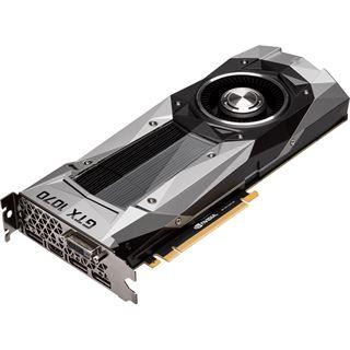 8GB Gigabyte GeForce GTX 1070 Founders Edition Aktiv PCIe 3.0 x16 (Retail)