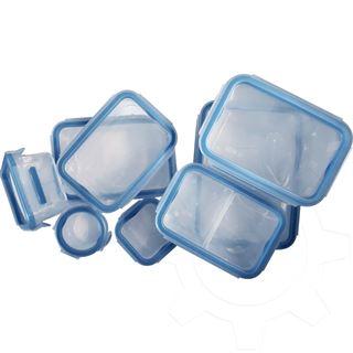 emsa Frischhaltedose CLIP & CLOSE, 9er Set, 0,15-2,30 Liter