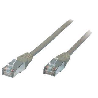 (€0,21*/1m) 100.00m ShiverPeaks Cat. 5e Patchkabel F/UTP RJ45 Stecker auf RJ45 Stecker Grau
