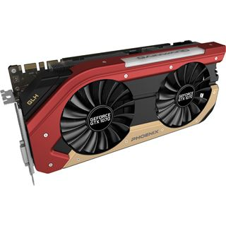 8GB Gainward GeForce GTX 1070 Phoenix Goes Like Hell Aktiv PCIe 3.0 x16 (Retail)