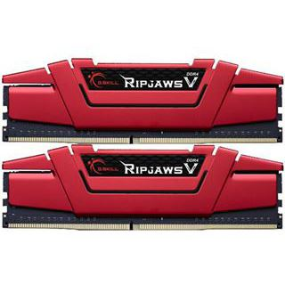 32GB G.Skill RipJaws V rot DDR4-2400 DIMM CL15 Dual Kit