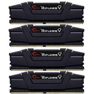 64GB G.Skill RipJaws V schwarz DDR4-3400 DIMM CL16 Quad Kit