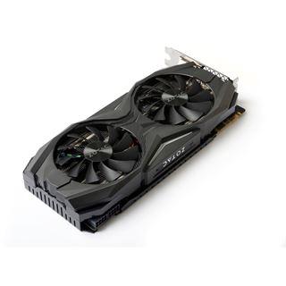 8GB ZOTAC GeForce GTX 1070 AMP! Edition Aktiv PCIe 3.0 x16 (Retail)