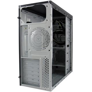 LC-Power 7017B Midi Tower ohne Netzteil schwarz