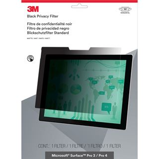 3M PRIVACY Blickschutzfilter für Microsoft Surface Pro 3/4